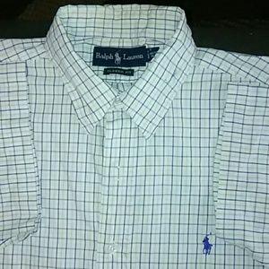 Ralph Lauren Classic fit short-sleeve button-up